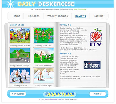 Daily Deskercise : Reviews