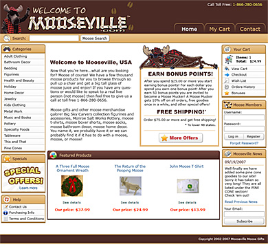Mooseville Redesign