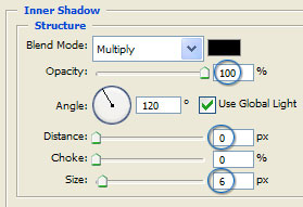 Platinum Inner Glow Settings
