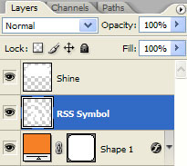 Finish RSS Symbol